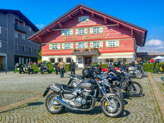 Unterwegs... in Sulzberg/Vorarlberg