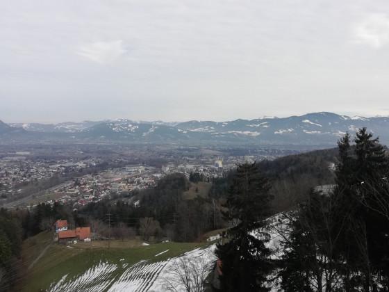 Blick über das Rheintal