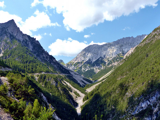 Lechtal und Kaunertalgletscher