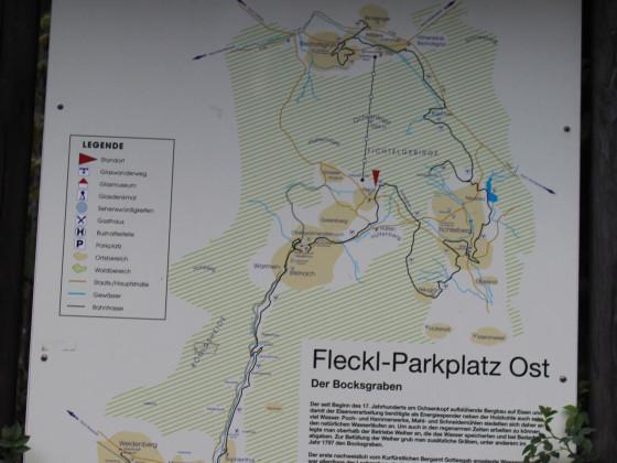 Am Ochsenkopf in Oberfranken