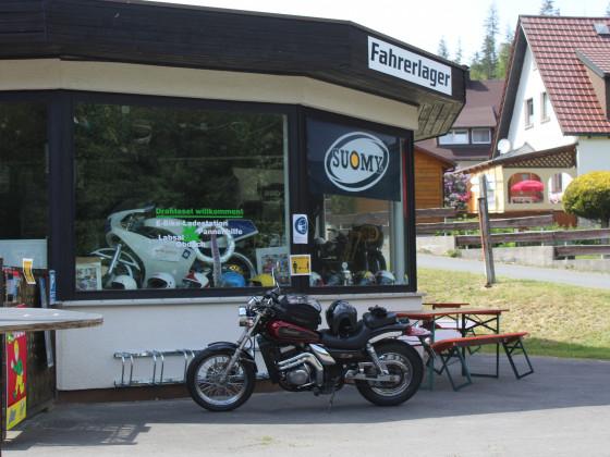 Fahrerlager (Biker-Treff) in Warmensteinach