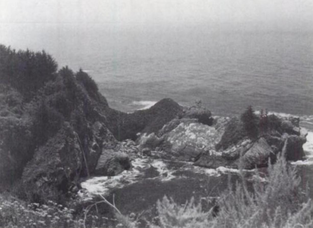 McWay Cove und Fall