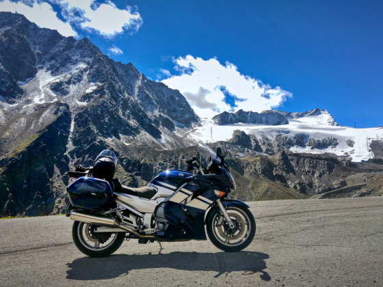 Auf dem Ötztaler Gletscher