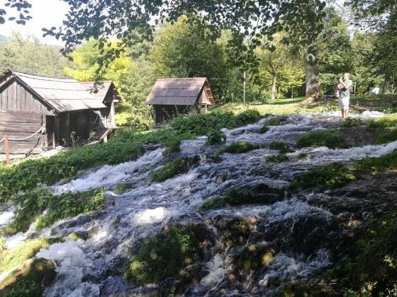 Balkan-Tour 2019 - Wassermühlen in Jajce
