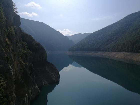 Balkan-Tour 2019 - Stausee Pivsko Jezero