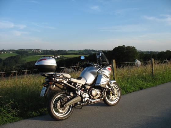 Yamaha XT 1200 im Bergischen 2011