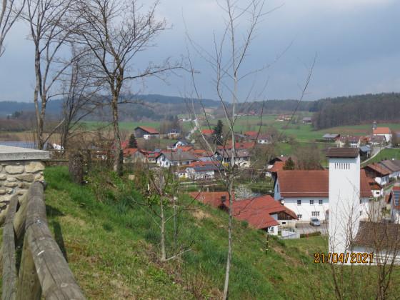 Blick von Burg Falkenfels