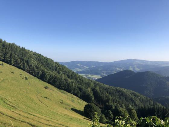 Aussicht von der Höfener Hütte