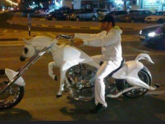 Mustangbike in Dubei