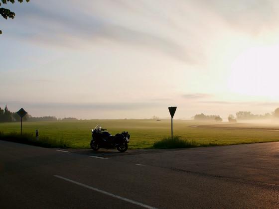 Morgenlicht...