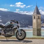 DAS Südtiroler Fotomotiv. Nein, nicht das Motorrad ..