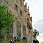 Honda Monkey und Schloß Kransberg