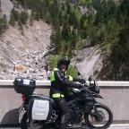Auffahrt zum Passo Pramollo