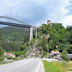 Unterwegs... Seen und Silvretta - Trisanna-Brücke