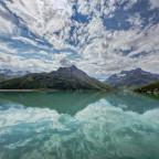 Unterwegs... Seen und Silvretta - Gegenlicht auf der Bieler Höhe