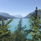 Blick auf den Thuner See