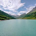 Unterwegs... Seen und Silvretta - Vermunt-Stausee