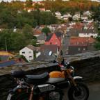 Honda Monkey, Blick über Kransberg