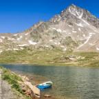 Lago Bianco, Gavia-Pass