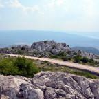 Mali Alan Pass/Kroatien Blick Richtung Süden