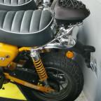 Honda Monkey mit Topcase