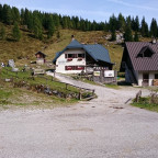 Berggasthaus am Passo de Cason di Lanza