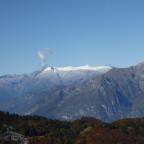 Vulkanausbruch in den Dolomiten