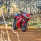 Mit der Ducati 748s auf ungewohntem Terrain