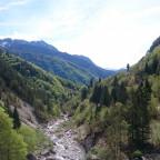 Aussicht vom Passo Pramollo