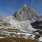Der Mangart, höchste Passstraße Sloweniens