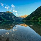 Unterwegs... Seen und Silvretta - der Vilsalpsee