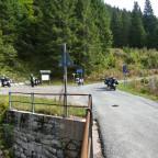 Abzweigung links nach Kärnten, rechts nach Pontebba